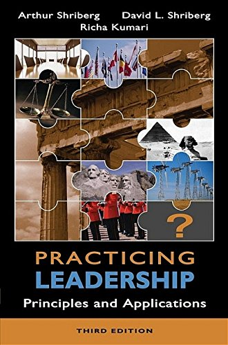 9780471656623: Practicing Leadership: Principles and Applications