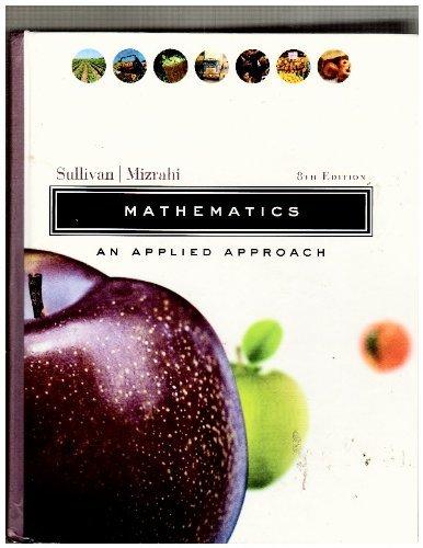 9780471656647: WIE Mathematics: An Applied Approach