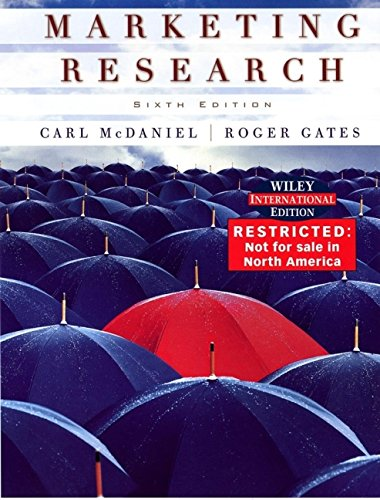 9780471657651: Marketing Research