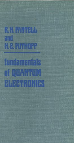9780471657903: Fundamentals of Quantum Electronics