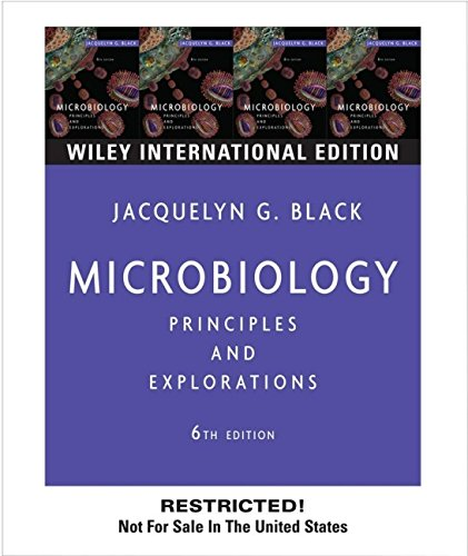 9780471658696: WIE Microbiology: Principles and Explorations