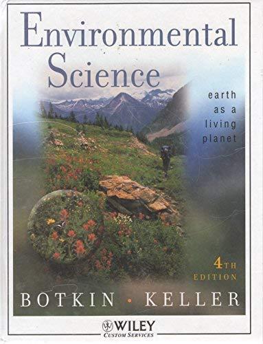 WCS)Environmental Science: Botkin, Daniel B.