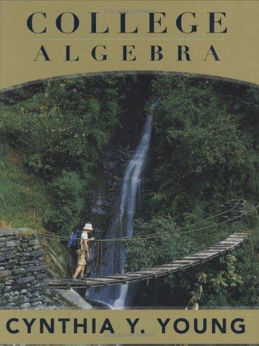 9780471659587: College Algebra