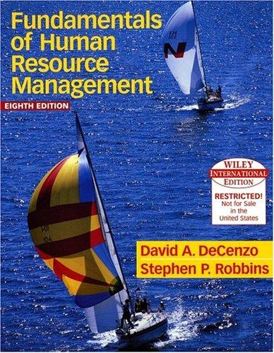 9780471660798: Human Resource Management