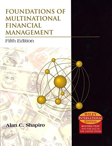 9780471661177: Foundations of Multinational Financial Management