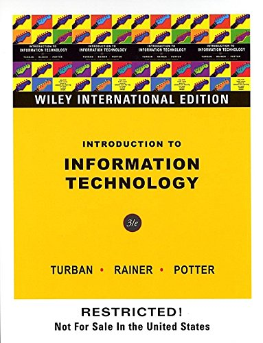 9780471661368: Introduction to Information Technology