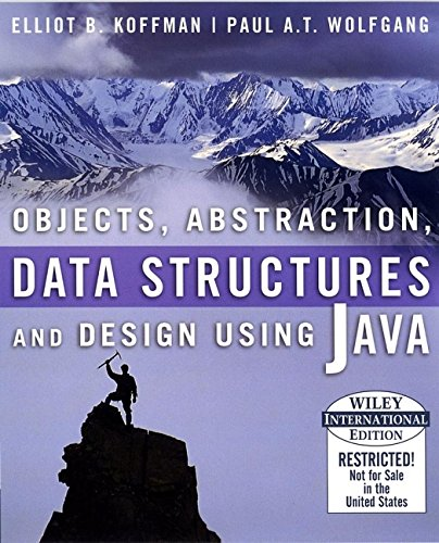 9780471661511: Objects, Abstraction, Data Structures and Design: Using Java