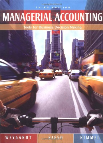 9780471661788: Managerial Accounting: Tools for Business Decision Making