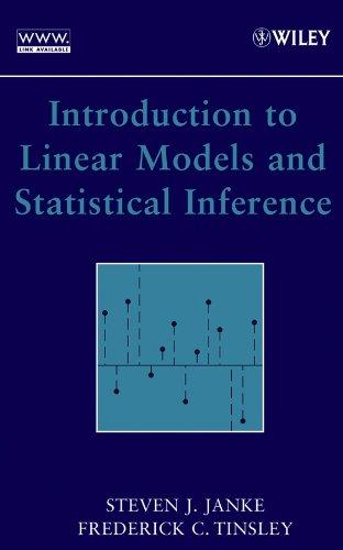 9780471662594: Linear Models