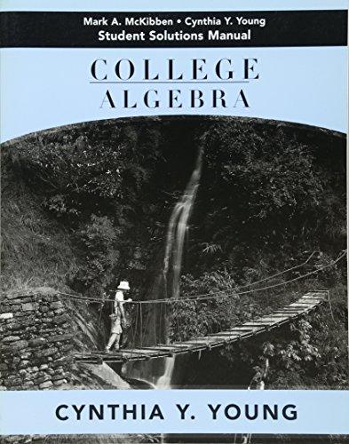 9780471662808: College Algebra, Student Solutions Manual