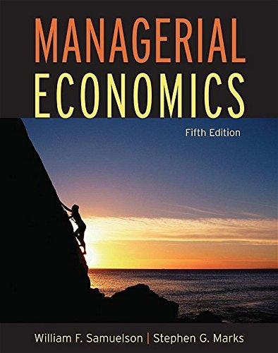 9780471663621: Managerial Economics