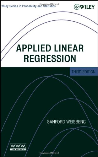 9780471663799: Applied Linear Regression (Wiley Series in Probability and Statistics)