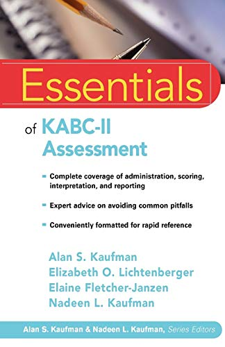 9780471667339: Essentials of KABC-II Assessment