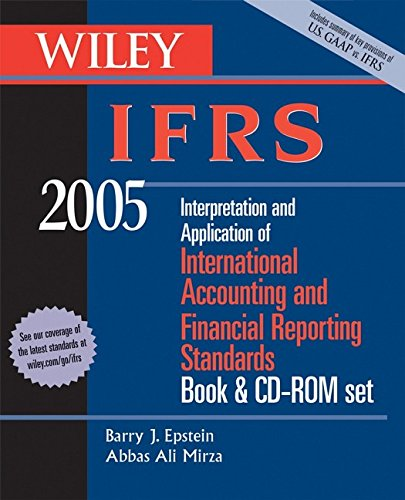 9780471668428: Wiley IFRS 2005, Book and CD-Rom: Interpretation and Application of International Accounting and Financial Reporting Standards