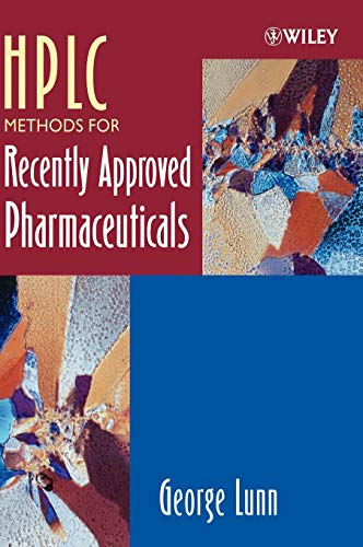 9780471669418: HPLC Methods for Recently Approved Pharmaceuticals