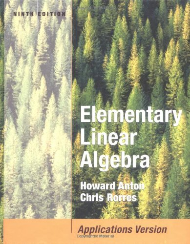 9780471669593: Elementary Linear Algebra with Applications