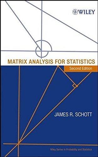9780471669838: Matrix Analysis for Statistics