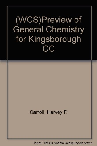 9780471670827: Preview of General Chemistry