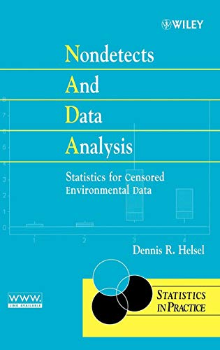 9780471671732: Nondetects and Data Analysis: Statistics for Censored Environmental Data (Statistics in Practice)