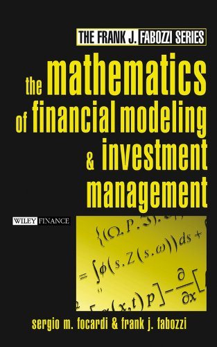 9780471674238: The Mathematics of Financial Modeling and Investment Management
