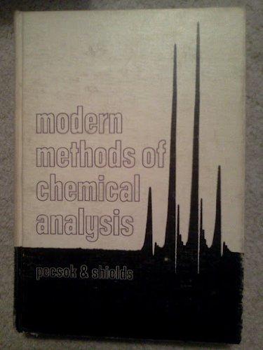 9780471676607: Modern Methods of Chemical Analysis