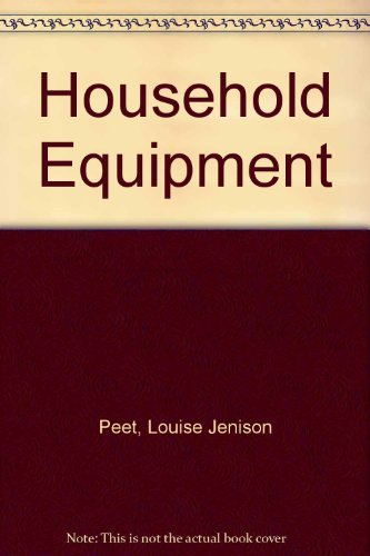 9780471677857: Household Equipment