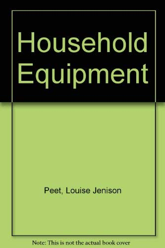 9780471677864: Household Equipment