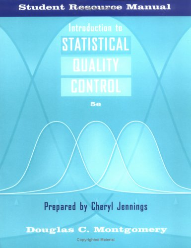 9780471678106: Introduction to Statistical Quality Control, Student Resource Manual