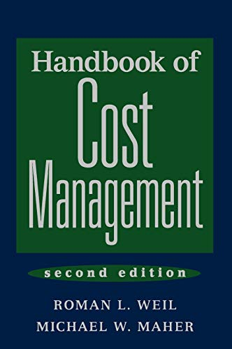9780471678144: Handbook of Cost Management