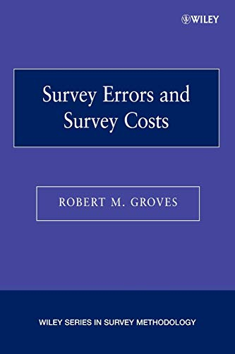 9780471678519: Survey Errors and Survey Costs