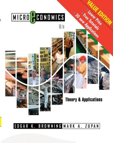 9780471678717: Microeconomics: Theory & Applications, 8th Edition Update