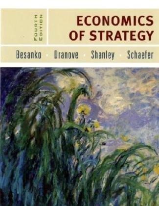9780471679455: Economics of Strategy
