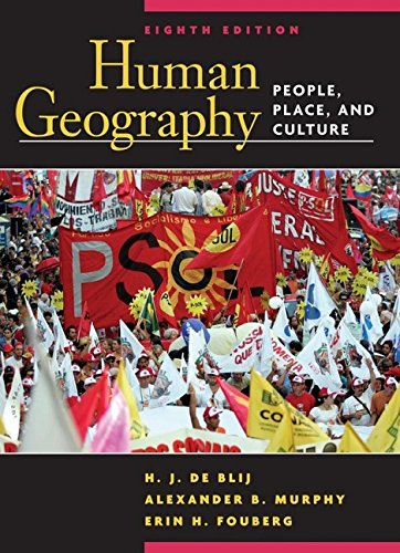 9780471679516: Human Geography: People, Place, and Culture