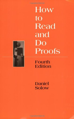9780471680581: How to Read and Do Proofs: An Introduction to Mathematical Thought Processes