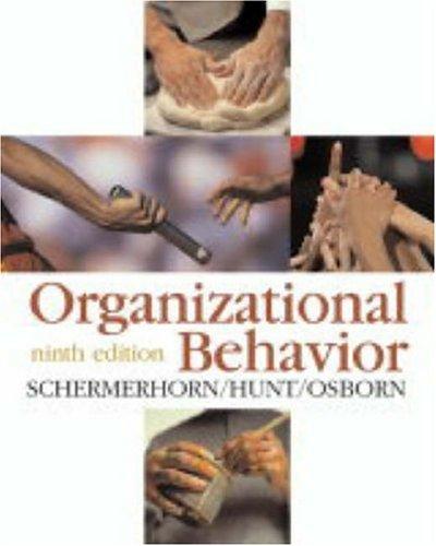 9780471681700: Organizational Behavior