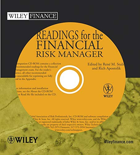 9780471681939: Readings for the Financial Risk Manager: Vol. 1 (Wiley Finance Series)