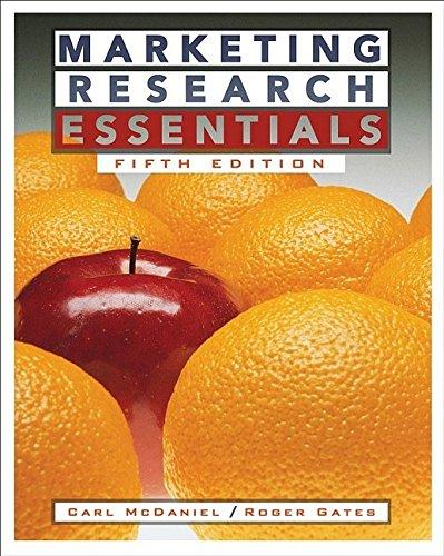 9780471684763: Marketing Research Essentials