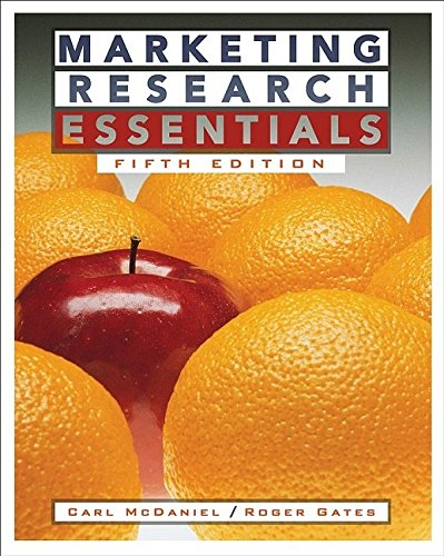 Marketing Research Essentials: Carl, Jr. McDaniel,