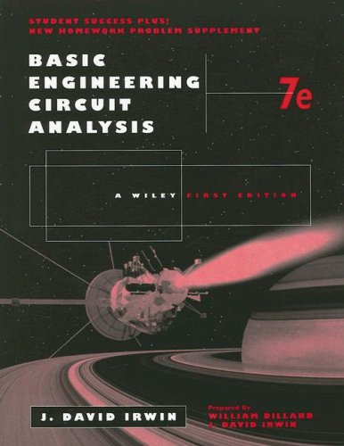 9780471686644: Basic Engineering Circuit Analysis 7th Edition, Problem-Solving Companion