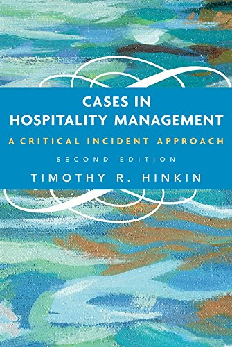 9780471686934: Cases in Hospitality Management: A Critical Incident Approach