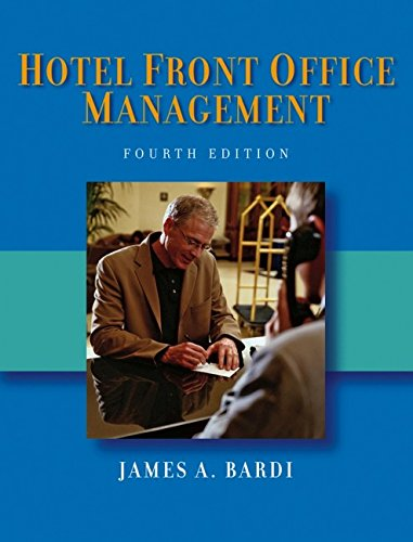 9780471687108: Hotel Front Office Management