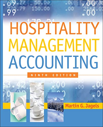 Hospitality Management Accounting: Jagels, Martin G.