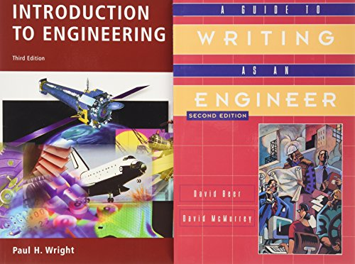 9780471690139: Introduction to Engineering: WITH Writing as an Engineer, 2r.e.