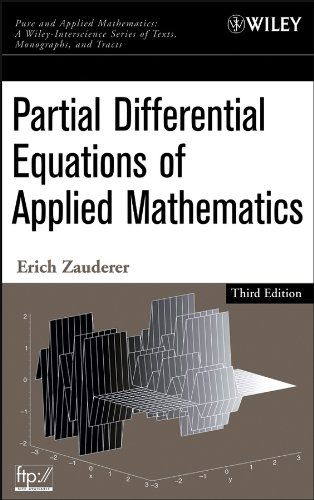 9780471690733: Partial Differential Equations of Applied Mathematics