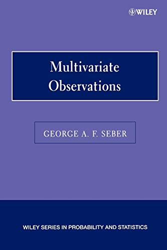9780471691211: Multivariate Observations P (Wiley Series in Probability and Statistics)