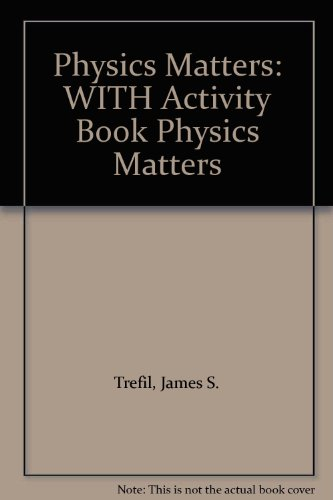 9780471691785: Physics Matters: WITH Activity Book Physics Matters