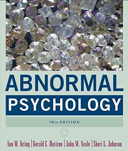 9780471692386: Abnormal Psychology