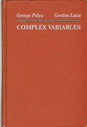 9780471693307: Complex Variables