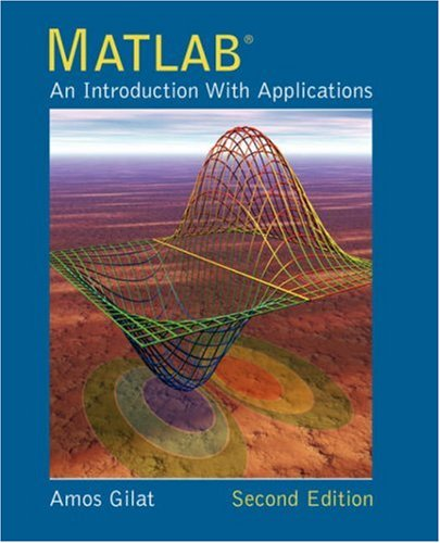9780471694205: MATLAB: An Introduction with Applications 2nd Edition