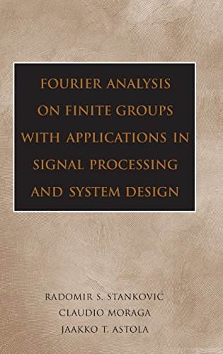 9780471694632: Fourier Analysis on Finite Groups with Applications in Signal Processing and System Design